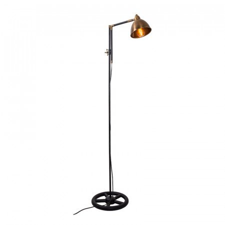 Vloerlampen industrieel with industriele leeslamp for Staande lamp betonlook