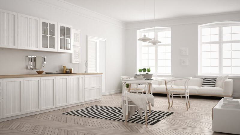 keuken in scandinavische stijl