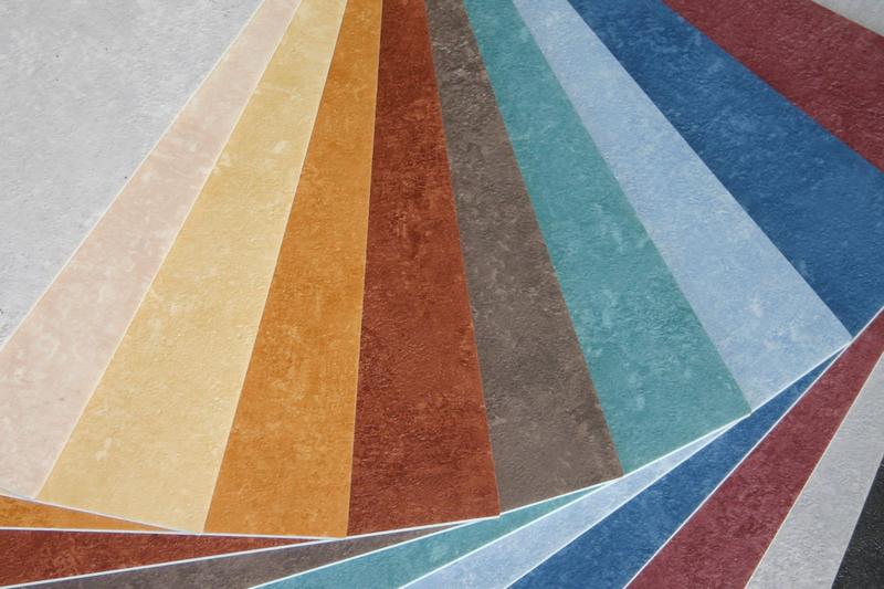 verschillende soorten zeil vloeren