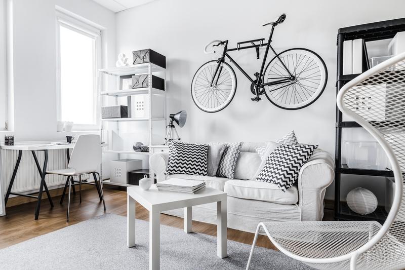 interieur zwart wit
