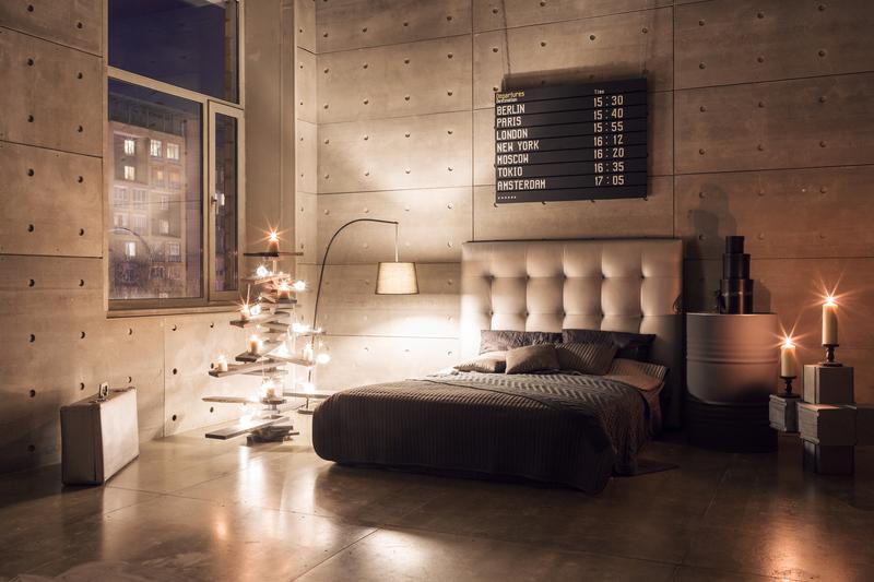 lichtplan voor de slaapkamer