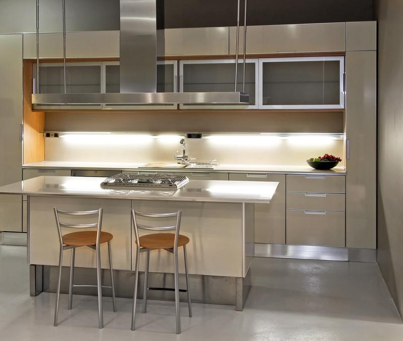 onderbouwspots in de keuken