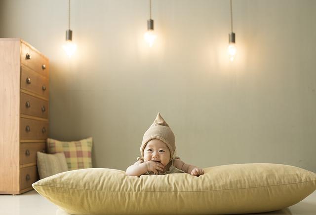 verlichting babykamer