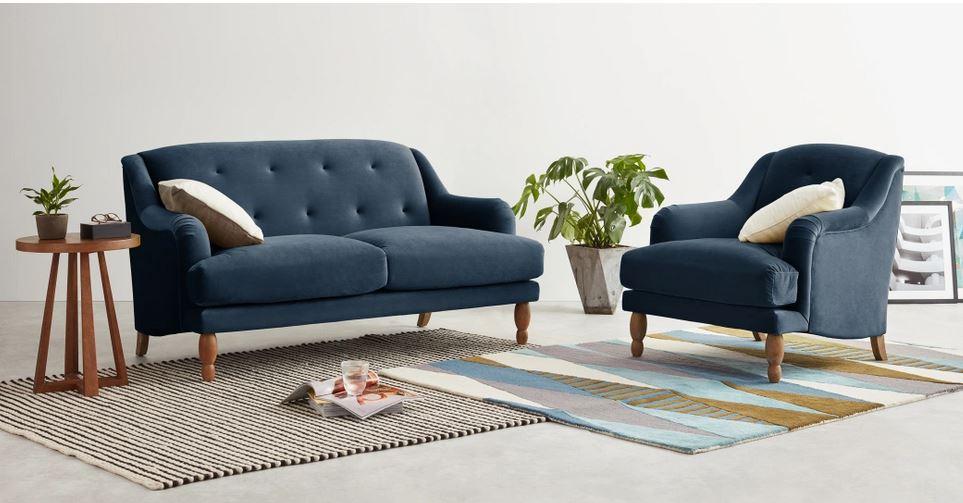 meubels van velvet
