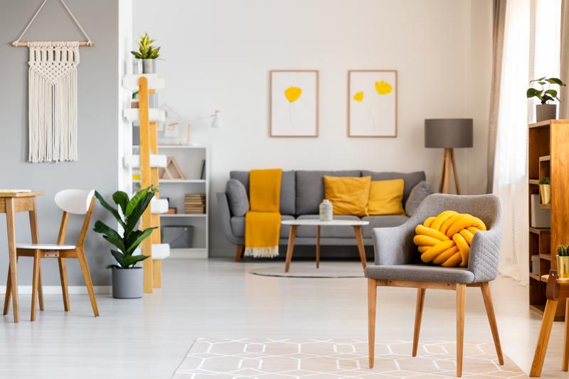 geel in je interieur gebruiken