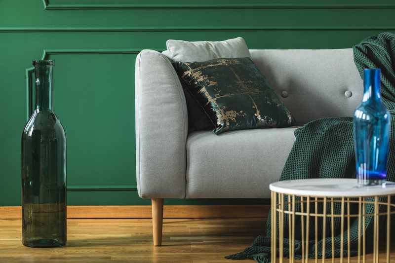 beetje groen in de woonkamer