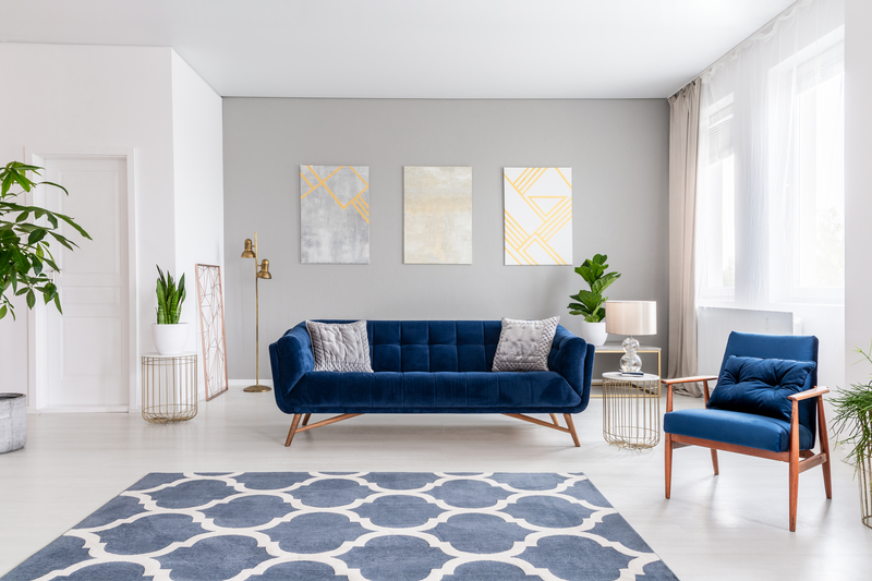 Blauw in je interieur