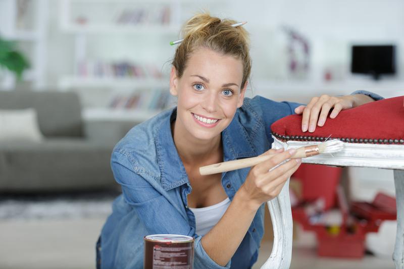 Zelf meubels schilderen