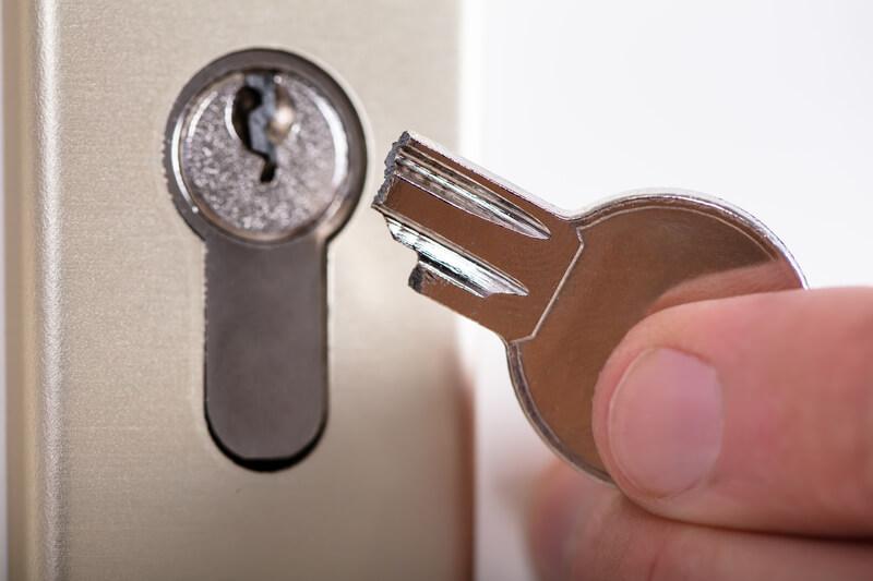 sleutel afgebroken
