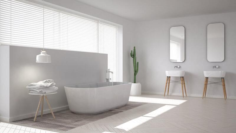 badkamer in scandinavische stijl