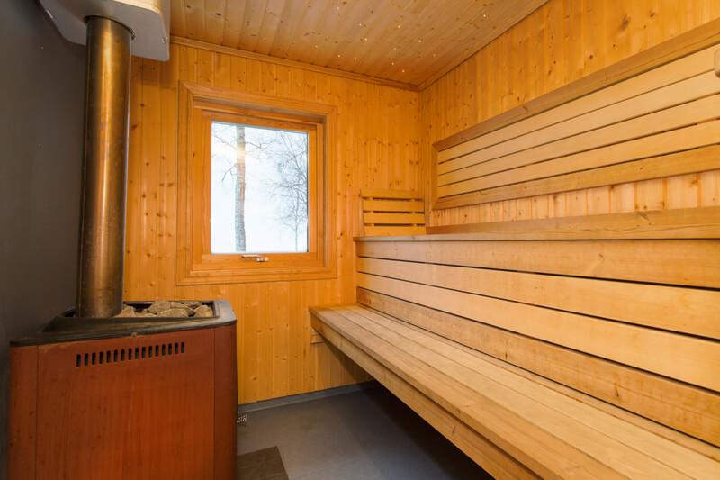 finse sauna buiten