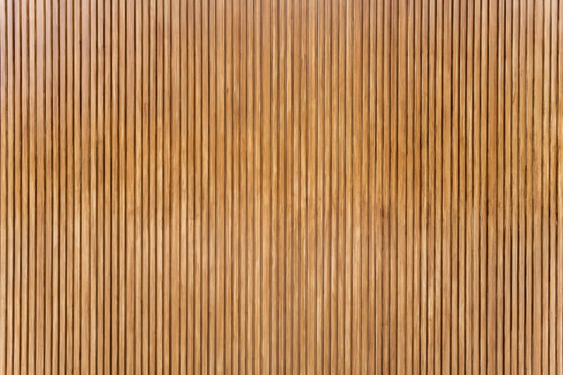 houten latten muur