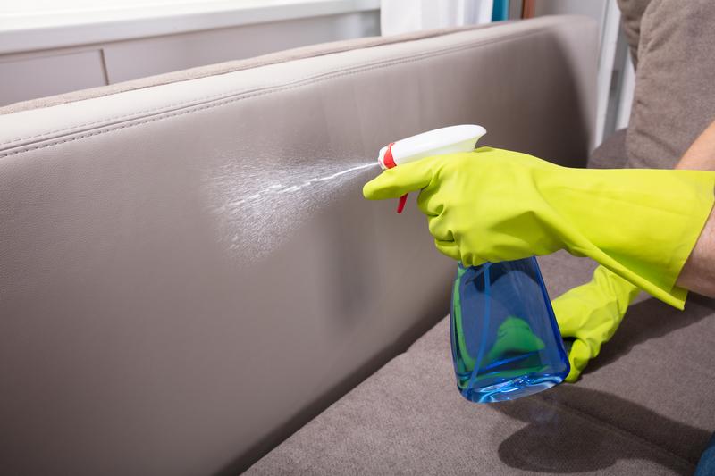 schoonmaaktips bank schoonmaken
