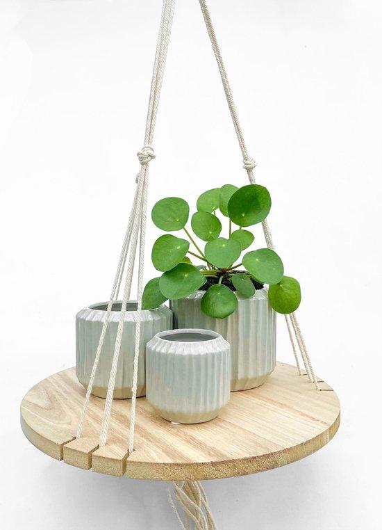Hangplank plantenhanger