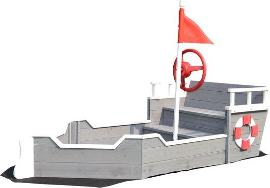 zandbak schip
