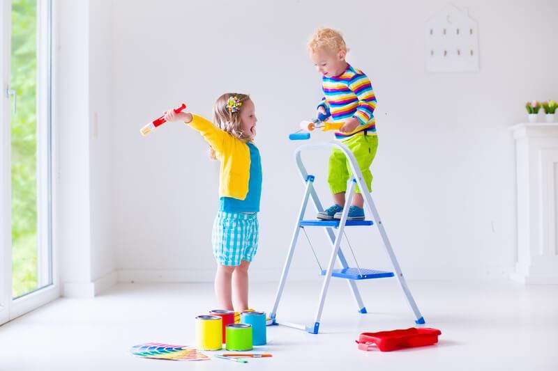 5 handige tips als je gaat verbouwen met kinderen