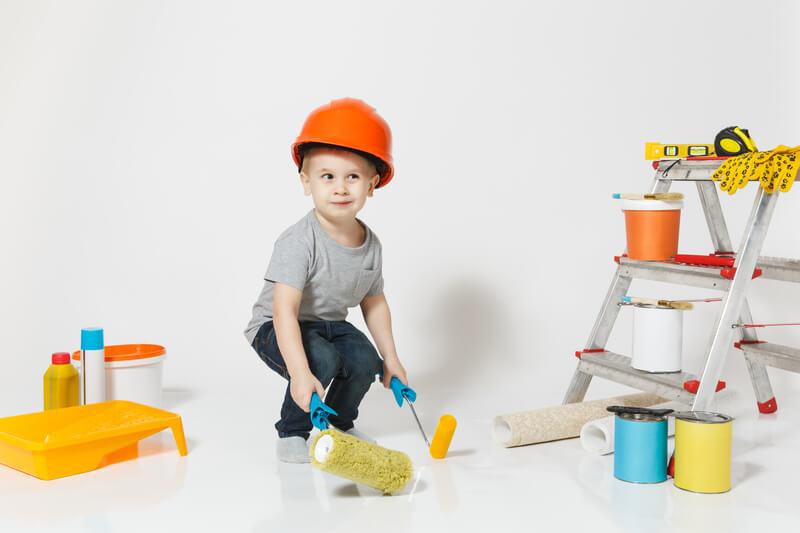 Verbouwen met kinderen 5 handige tips