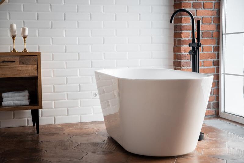 6 voordelen van een vrijstaand bad