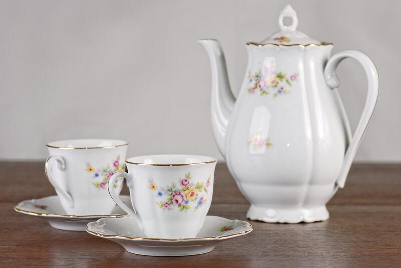 Porselein theeservies mooi houden zo doe je dat